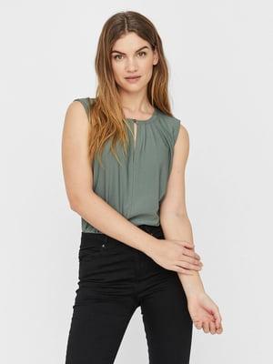 Блуза серо-зеленая | 5730871