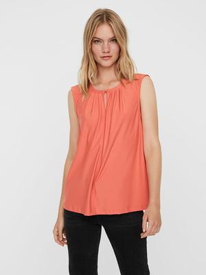 Блуза кораллового цвета | 5730873