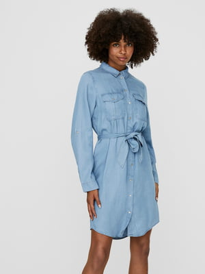 Платье голубое | 5730881