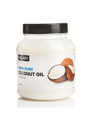 Набір: кокосова олія (500 мл) та щітка для масажу | 5731089