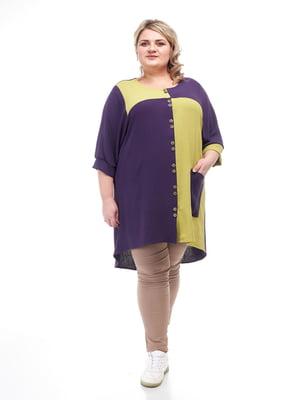 Рубашка двухцветная   5731422