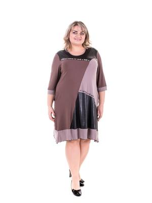 Платье трехцветное | 5731441