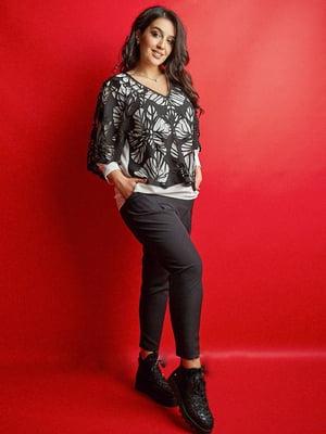 Костюм: блуза і штани | 5725510