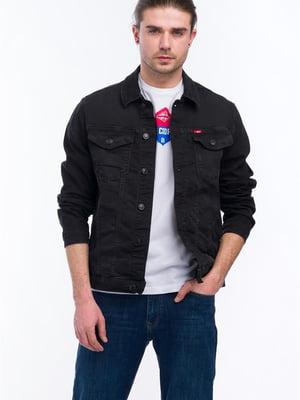 Куртка черная джинсовая | 5730626