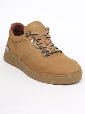 Кросівки коричневі | 5717527