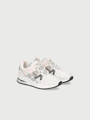 Кросівки комбінованого кольору з логотипом | 5731145
