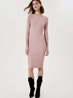 Сукня кольору пудри | 5731155