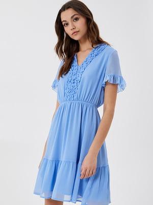 Платье небесного цвета | 5731208
