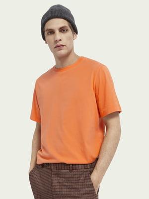 Футболка морквяного кольору | 5731111