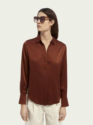 Рубашка терракотового цвета | 5731118