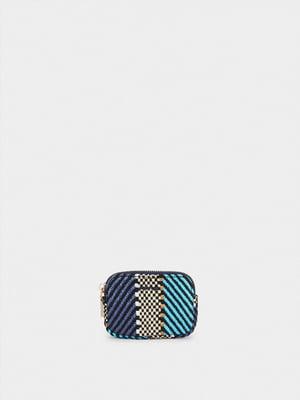 Косметичка комбинированного цвета с узором | 5732170