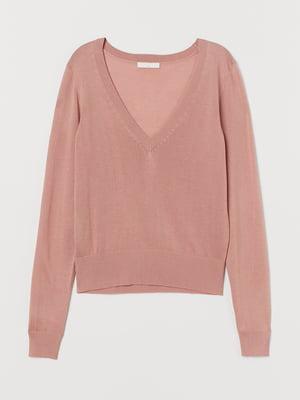 Пуловер рожевий | 5733499