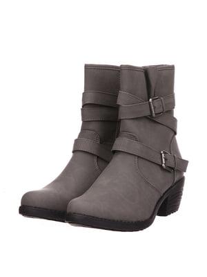 Ботинки серые | 5733534
