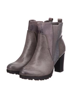Ботинки серые | 5733553