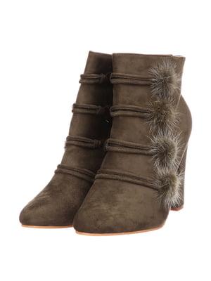 Ботинки коричневые | 5733561
