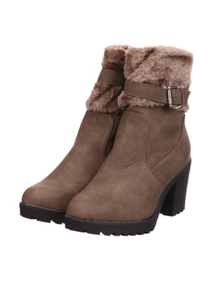 Ботинки темно-бежевые | 5733585