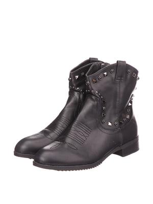Ботинки черные   5733601