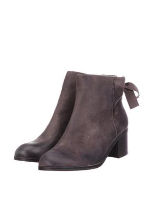 Ботинки темно-серые | 5733604