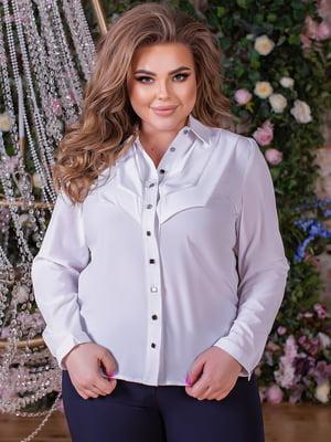 Блуза белая   5733660
