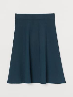 Юбка сине-зеленая | 5734053