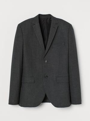 Пиджак темно-серый | 5734085