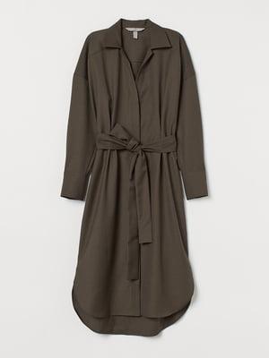 Платье цвета хаки | 5734146
