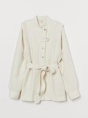 Куртка светло-бежевая | 5734176