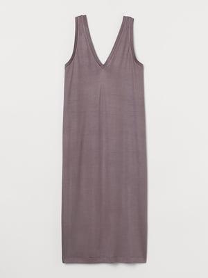 Сукня сіро-бузкова | 5734292