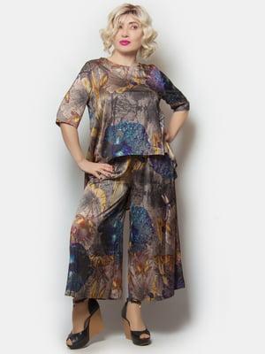 Костюм: блуза і штани | 5734787