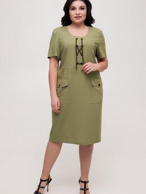 Платье зеленое   5734804