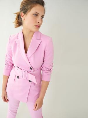 Жакет розовый | 5733752