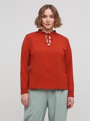 Блуза коричневого цвета | 5656403