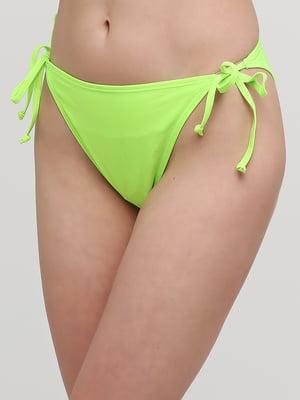 Трусы купальные зеленого цвета | 5656434