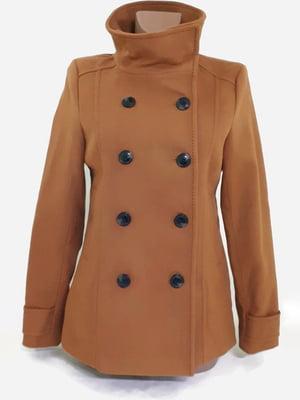 Пальто коричневого цвета | 5705670