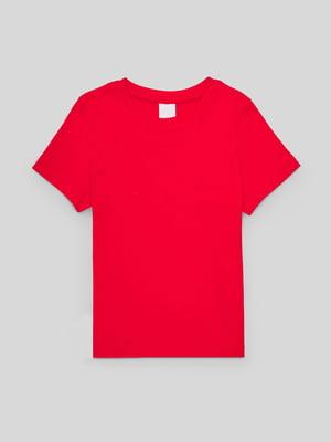 Футболка червоного кольору | 5707533