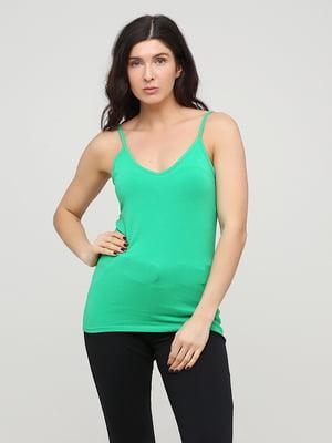 Майка зеленого цвета | 5729750