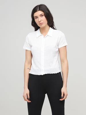 Сорочка біла з візерунком | 5729761
