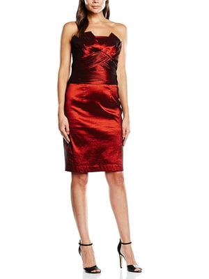 Платье винного цвета   5729855