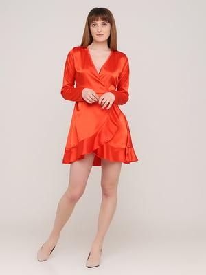 Сукня морквяного кольору | 5730230