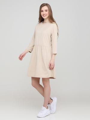 Сукня бежевого кольору | 5730235