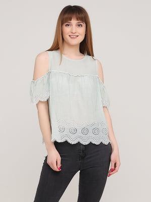 Блуза зеленого цвета | 5730249