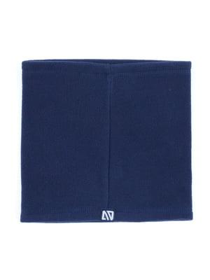 Шарф-хомут синий | 5735241