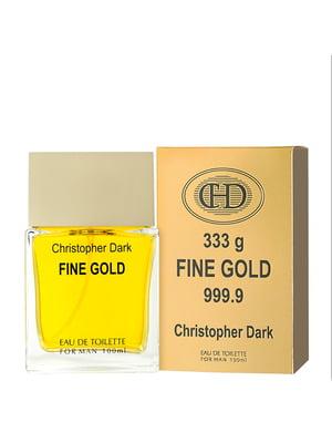 Туалетна вода Fine Gold (100 мл) | 5735484