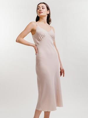 Сукня бежевого кольору | 5735653