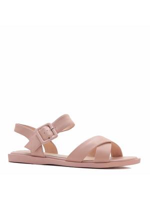 Сандалі рожевого кольору   5735764