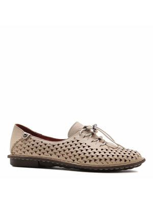 Туфли бежевые | 5736036