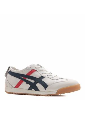Кросівки кремового кольору з логотипом   5736157