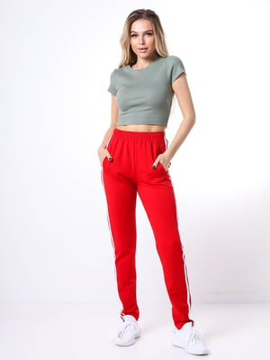 Штани червоні | 5736539