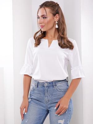 Блуза белая | 5735358