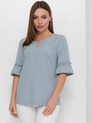 Блуза серая | 5735360